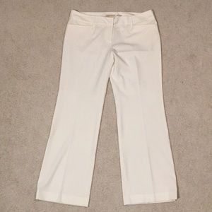 "Michael Kors ""Grammercy Fit"" Cream Trousers"